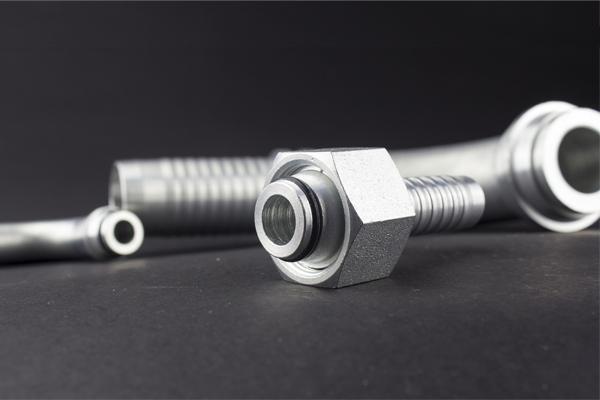 Konus od 24 stepena Metrički navoj, standardni DKOL DKOS hidraulični priključak